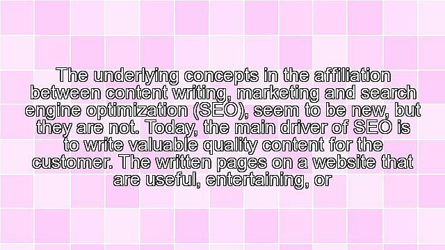 Content Writing and Marketing for SEO
