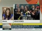 Brasil: resolución sobre impeachment podría darse en la madrugada