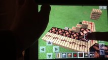 How To Make A Light Switch With Daylight Sensor (0.13.0) Minecraft PE