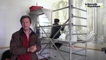 VIDEO (41) De remarquables fresques découvertes au château des Grotteaux à Huisseau-sur-Cosson