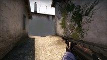 CS GO Inferno smoke kill