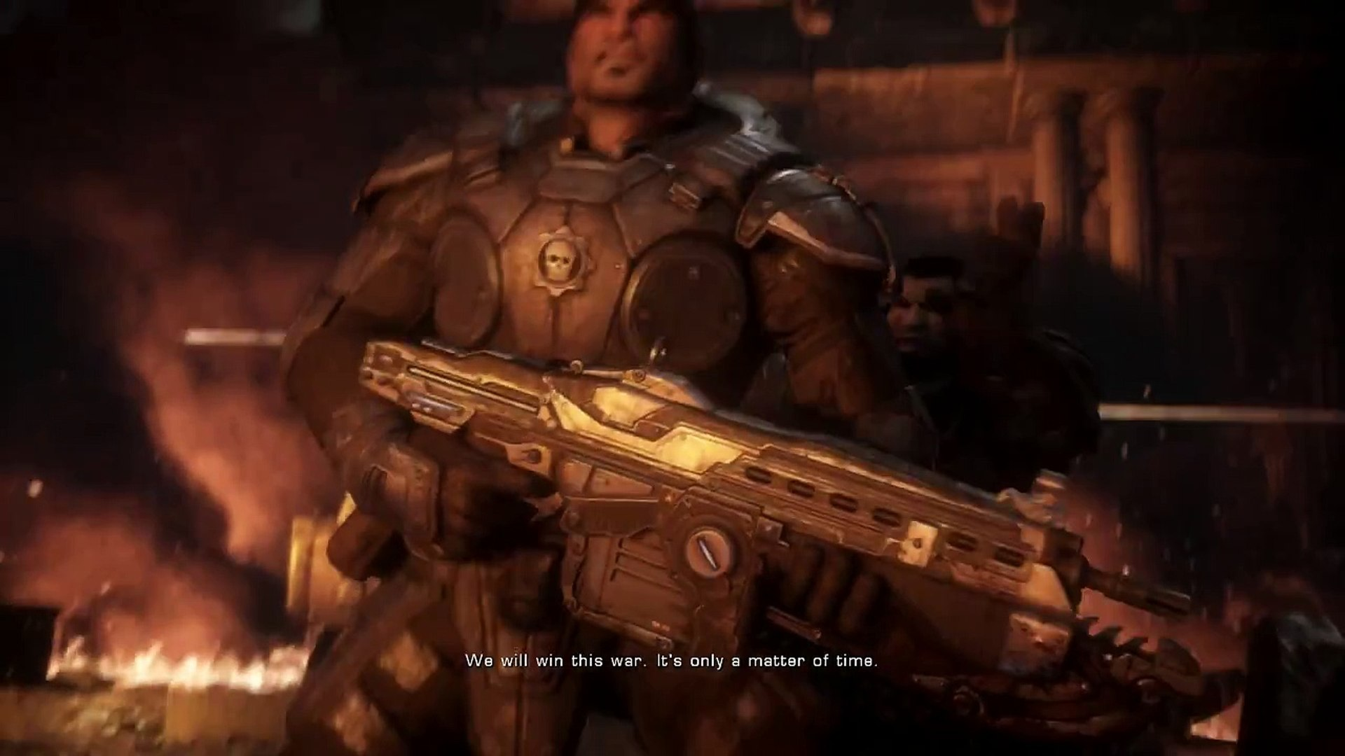 Ultimate RAGE!!! Good job I love this game. Gears of War ultimate edition PC episode 3