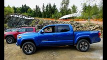 2016 Toyota Tacoma TRD Off Road review with some intense off road test driving