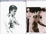 Bruce Lee Speed Painting