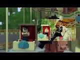 Gangnam Style [ W/ Minecraft Style(CaptainSparklez)/Gangnam Style (Psy) ] [[ MASHUP]]
