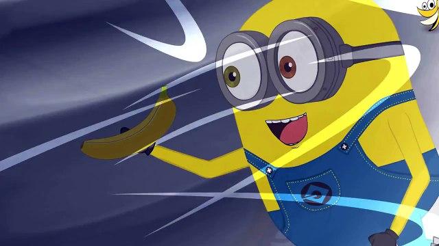 Minions Bow Banana Funny Cartoon ~ Minions Mini Movies 2016 (HD) 1080p