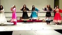 Afghan Gilrs dance and attan