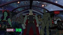 Exclusive: Marvel's Guardians of the Galaxy (Asgard War Part Two: Rescue Me) - Official Clip [HD]