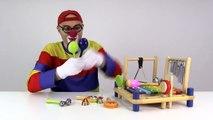 Çocuklar için eğlenceli film - Palyaço Dima müzik yapıyor