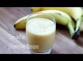 Le délicieux smoothie pomme banane en 3 minutes !