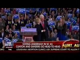 Voting Underway In SC As Clinton & Sanders Go Head-To-Head - Cavuto