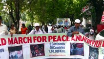 Walk the Future world march for Peace and nonviolence