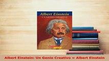 PDF  Albert Einstein Un Genio Creativo  Albert Einstein Download Full Ebook
