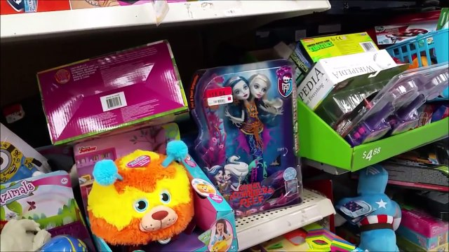 TOY HUNTING - SHOPKINS SPREE Shopping all over town for FOOD FAIR SHOPKINS Toys R Us Target Walmart