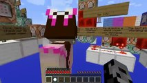 PAT And JEN Minecraft: Mini-Game - BLOCK DROPPER! (ESCAPE THE FALLING BLOCKS!) PopularMMOs