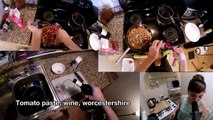 Metal Kitchen #1: The Ghost Inside makes Shepherd's Pie with Linzey Rae