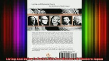 Read  Living And Dying In Zazen Five Zen Masters Of Modern Japan  Full EBook