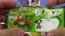 Kinder Sürpriz Yumurta Oyuncak Açma 10 Farklı Oyuncaklı Yumurtalar