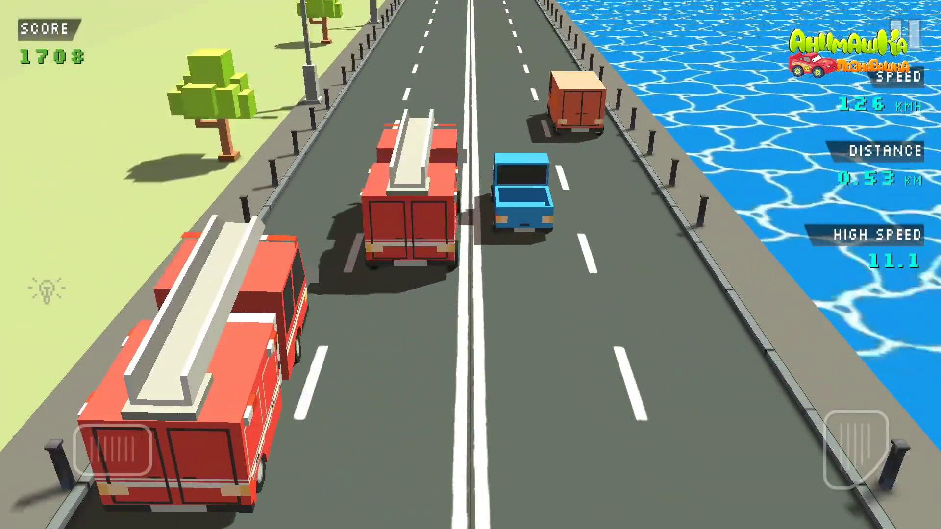 Машинки мультики Скорая помощь Пожарная машина у видео для детей Учимся водить машины. Мультфильмы