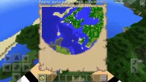 """Tricks you """"Maybe"""" Didnt Know About Maps! Minecraft PE (0.14-0.15) Map Trick!"""