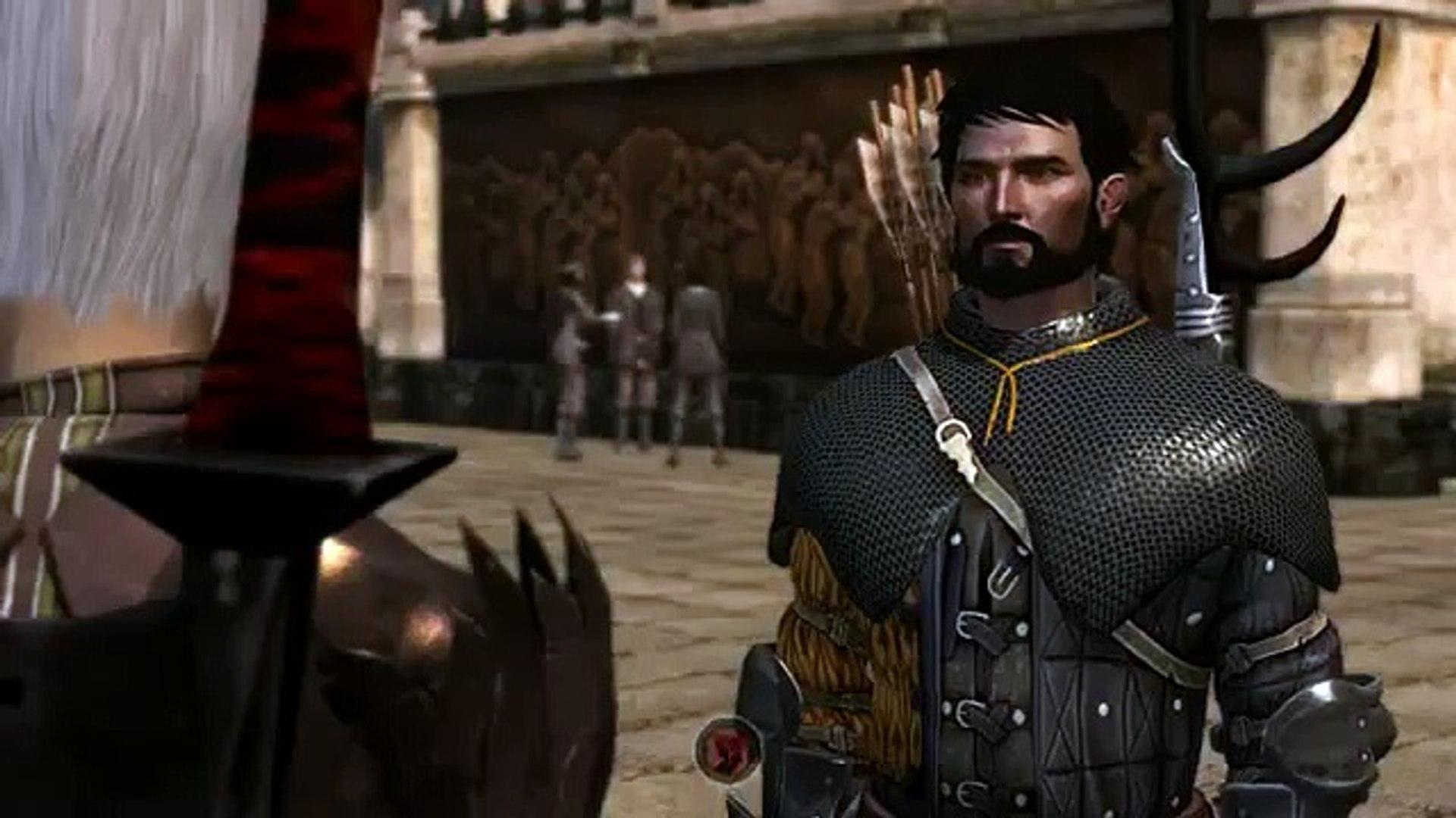 Dragon Age 2 Fenris Versus Anders Gallows Version 1 Video