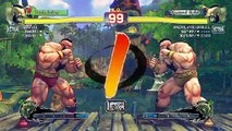 Ultra Street Fighter IV battle: Zangief vs Zangief