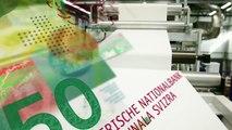 50-Franken-Note – Le billet de 50francs – 50-franc note – Banconota da 50 franchi