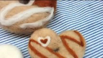 How to make needle felted doughnuts - Needle Felting Tutorial