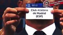 Semi-finals draw Uefa Champions League 2016 Sorteo SemiFinales Uefa Champions League 15.04.2016 HD