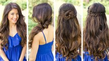 Quick Cute and Easy Hairstyles _ Latest Hairstyles