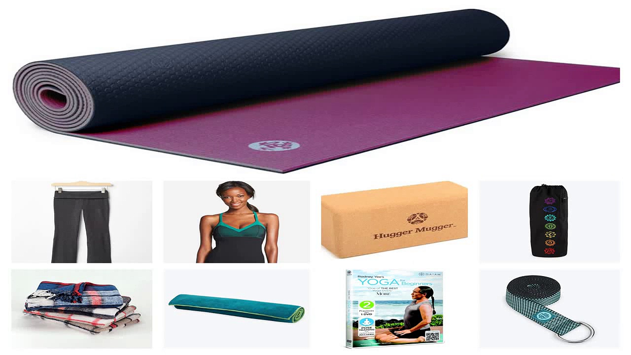 Yoga Essentials Beginners Yoga Kit Yoga Mat Yoga Brick Yoga Strap Yoga DVD
