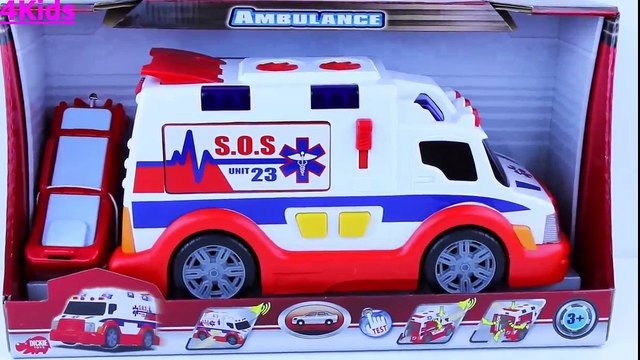 Peppa Pig , Mickey Mouse Toys For Kids - Ambulance