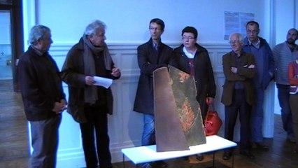 Discours, lors du Vernissage céramiques au PEMA Nontron