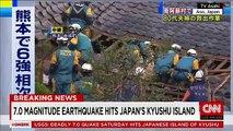 7.0 earthquake hits Japan's Kyushu Island - LoneWolf Sager(◑_◑)