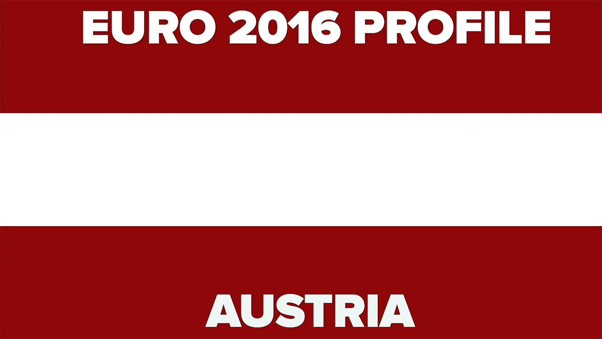 Euro 2016 Profile Austria