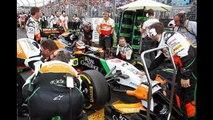 Sahara Force India Formula One Team Rolex Australian Grand prix 2014