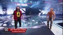 Stone Cold , HBK and Mick Foley make a surprise appearance  WrestleMania 32 on WWE Network