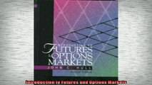 READ book  Introduction to Futures and Options Markets  FREE BOOOK ONLINE