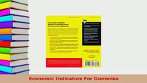 PDF  Economic Indicators For Dummies Free Books
