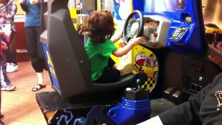 Safiya driving