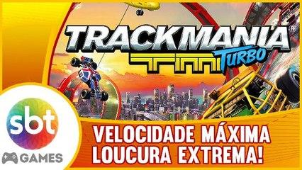 Trackmania Turbo - Desespero perto da LINHA DE CHEGADA!