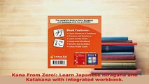 PDF  Kana From Zero Learn Japanese Hiragana and Katakana with integrated workbook Download Online