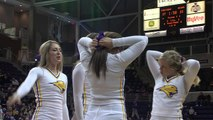 Morgan State vs. UNI Men's Basketball - Nov. 20, 2014 - cheerleaders