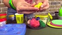 Çocuk filmi - Play-Doh hamurundan yemek yapıyoruz