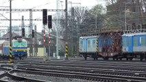 350.004-8 Hugo ZSSK na vlaku EC 128 | železniční stanice Olomouc