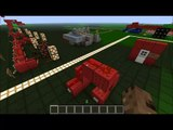 Simple Redstone Combination Lock [Minecraft Redstone Tutorials]