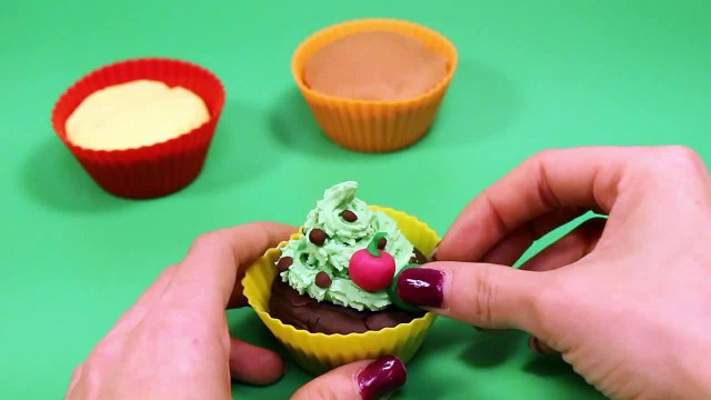 Play Doh Cupcakes Playdough Sweet Confections Cupcakes Muffins Ice Creams Part 4