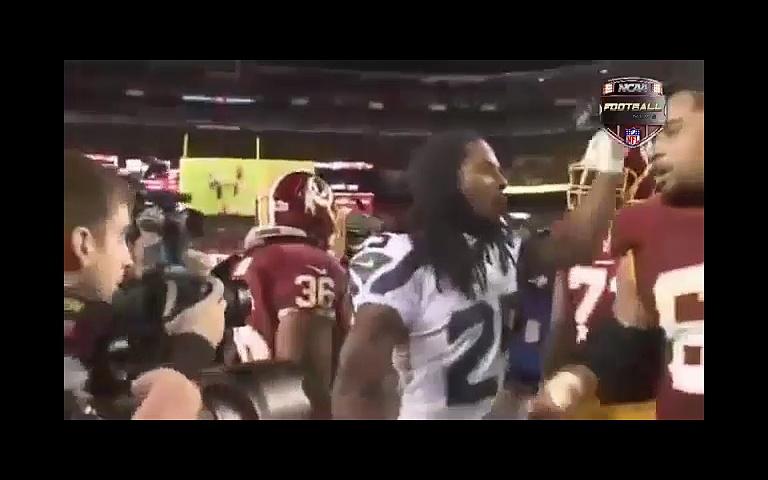Football fights.NFL.American football