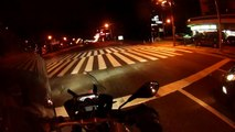 BMW 2013 R1200GS Liquid cooled (water cooled) night scene