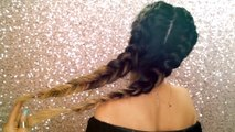 Freestyle Double Braid The Braid Up Video Dailymotion